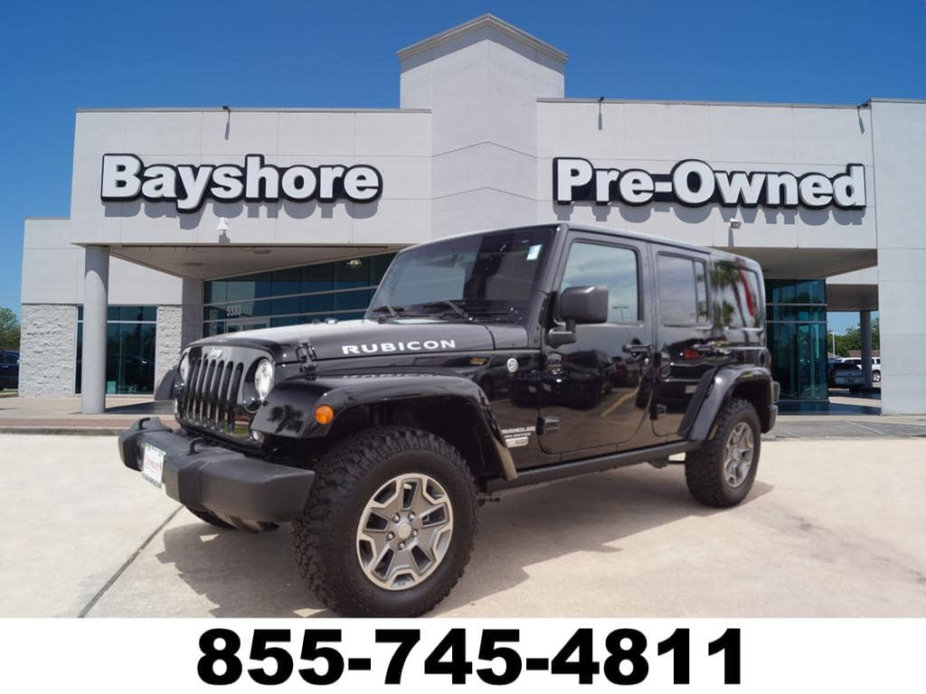 Photo 2017 Jeep Wrangler JK Unlimited 4WD Rubicon 4x4 SUV in Baytown, TX Please call 832-262-9925 for more information.
