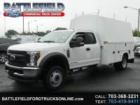 2018 Ford F-550 4WD SuperCab w/ 11' Enclosed Utility Body