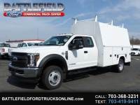 2018 Ford F-550 SuperCab 4x4 XL w/11' Enclosed Utility Body