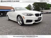 Certified Pre-Owned 2015 BMW 2 Series 228i RWD 2D Convertible