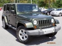 2008 Jeep Wrangler Unlimited Sahara 4WD Unlimited Sahara
