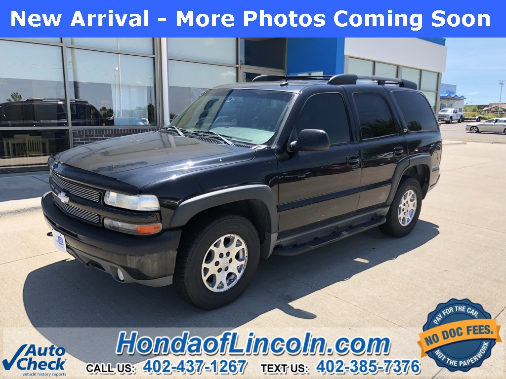 Photo Pre-Owned 2003 Chevrolet Tahoe Z71 4WD 4D Sport Utility