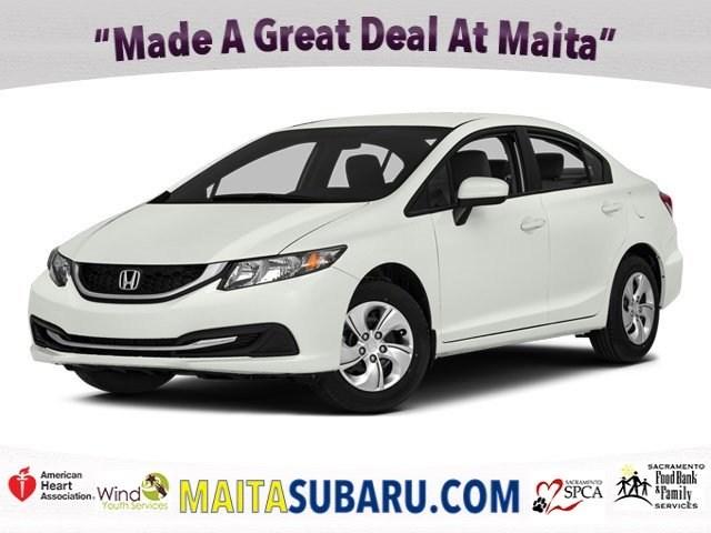 Photo Used 2014 Honda Civic Sedan LX Available in Sacramento CA