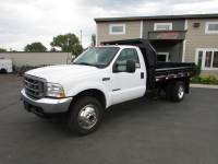 Used 2002 Ford F-450 4x4 Dump Truck