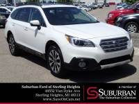 2016 Subaru Outback 2.5i SUV 4-Cylinder DOHC 16V