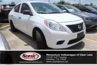 Used 2012 Nissan Versa S 4dr dn CVT 1.6 Sedan in Houston