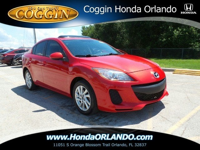 Photo Pre-Owned 2013 Mazda Mazda3 i Grand Touring Sedan in Jacksonville FL