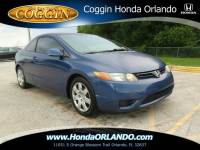 Pre-Owned 2007 Honda Civic LX Coupe in Orlando FL