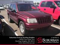 2000 Jeep Grand Cherokee Limited SUV PowerTech V8