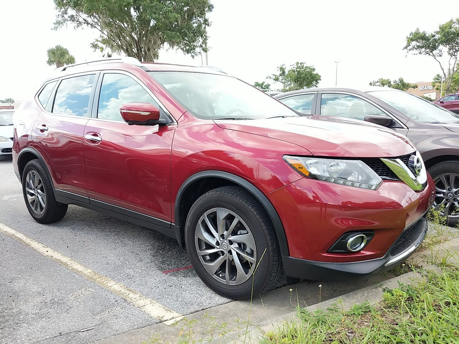 Photo Certified Pre-Owned 2015 Nissan Rogue SL SUV For Sale Leesburg, FL