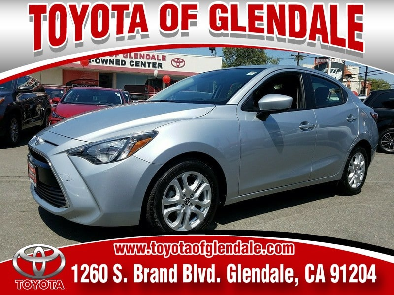 Photo Used 2017 Toyota Yaris IA Base For Sale  Glendale CA  Serving Los Angeles  3MYDLBYV0HY191443
