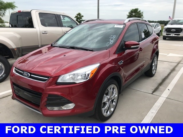Photo Used 2015 Ford Escape Titanium W Panoramic Roof, Navigation, 19 Wheels SUV I-4 cyl in Kissimmee, FL