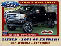 2014 Ford Super Duty F-250 Pickup Platinum Crew Cab 4x4 - LIFTED - LOT$ OF EXTRA$!