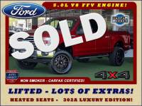 2016 Ford F-150 XLT LUXURY SuperCrew 4x4 - LIFTED - EXTRA$!