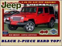 2018 Jeep Wrangler JK Unlimited Sahara 4x4 - ONE OWNER - HARD TOP!