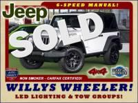 2017 Jeep Wrangler Willys Wheeler 4x4 - LED LIGHTING & TOW PKGS!