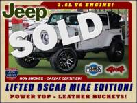 2017 Jeep Wrangler Unlimited Freedom OSCAR MIKE EDITION - LIFTED - PWR TOP!