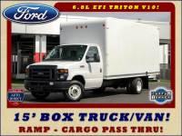 2017 Ford E-Series Cutaway E350 UNICELL 15' BOX TRUCK/VAN