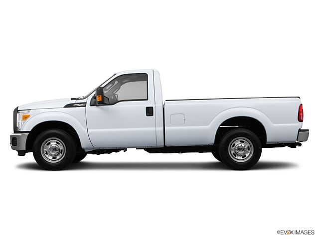 Photo Used 2013 Ford F-250 XL Truck Regular Cab V-8 cyl for Sale in Crosby near Houston
