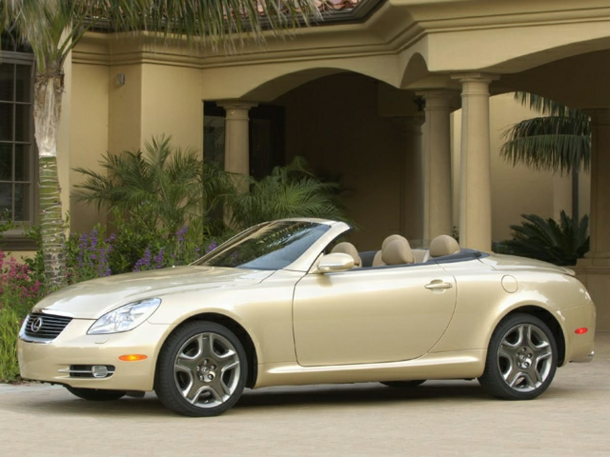Photo Pre-Owned 2006 Lexus SC 430 Convertible With Navigation