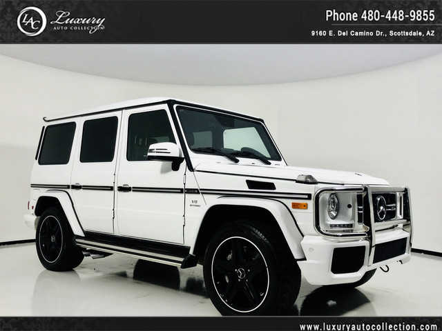 Photo 2017 Mercedes-Benz G-Class AMG G 63 AMG G 63  Designo Int  Distronic Plus  Drivers Assist  16 15 All Wheel Drive 4MATIC SUV