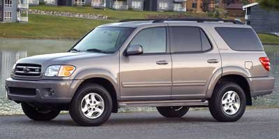 Photo Pre-Owned 2002 Toyota Sequoia 4dr SR5 Rear Wheel Drive SUV