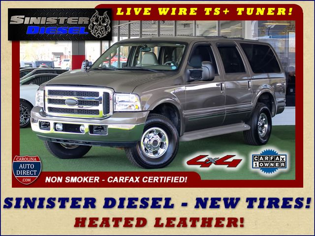 Photo 2003 Ford Excursion Limited 4X4 - SINISTER DIESEL - BRAND NEW TIRES