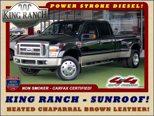 Photo 2008 Ford Super Duty F-450 DRW King Ranch Crew Cab 4x4 OFF ROAD - SUNROOF