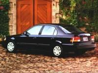 1998 Honda Civic LX Sedan Front-wheel Drive