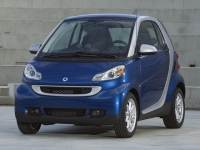 2012 smart fortwo Coupe Rear-wheel Drive