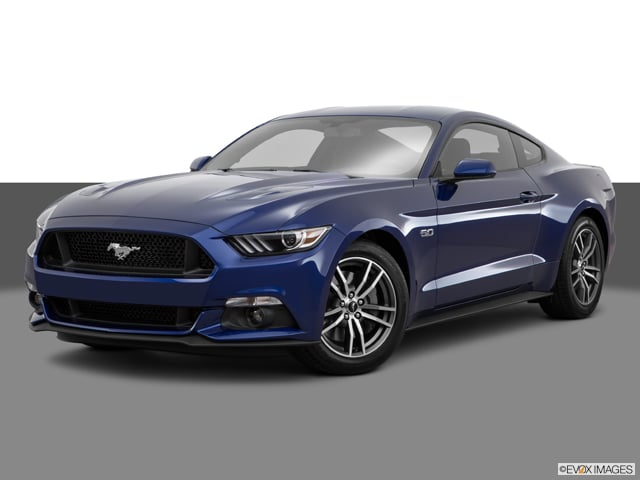 Photo Used 2016 Ford Mustang GT Coupe for sale in Barstow CA