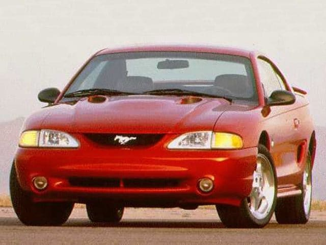 Photo 1996 Ford Mustang Cobra Coupe