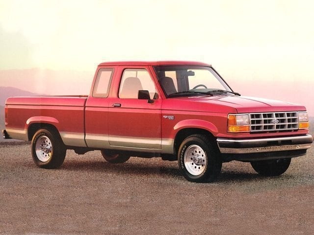 Photo Used 1993 Ford Ranger Truck Super Cab 4x4 in Chico, CA
