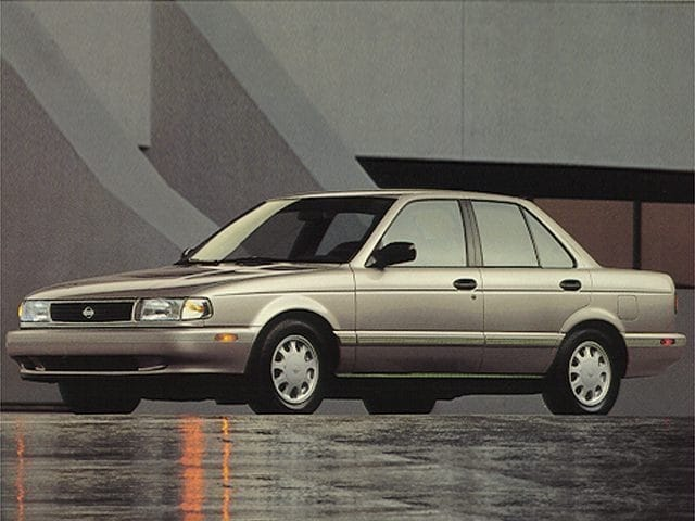 Photo Used 1994 Nissan Sentra Sedan For Sale in Asheville, NC