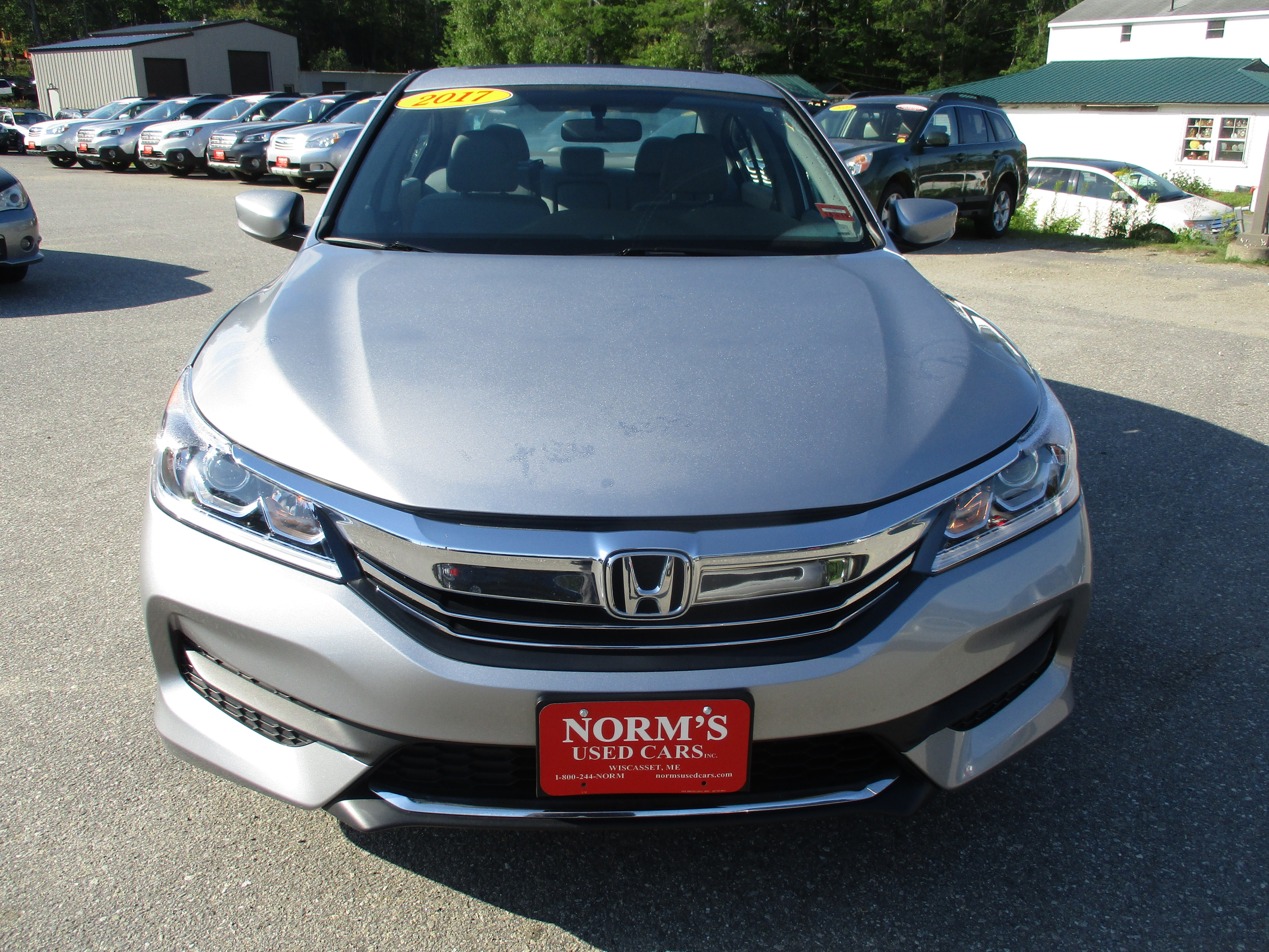 Photo Used 2017 Honda Accord For Sale  Wiscasset ME