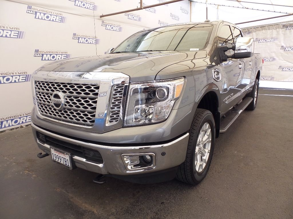 Photo Used 2016 Nissan Titan XD SL Diesel Truck Crew Cab in Fairfield CA
