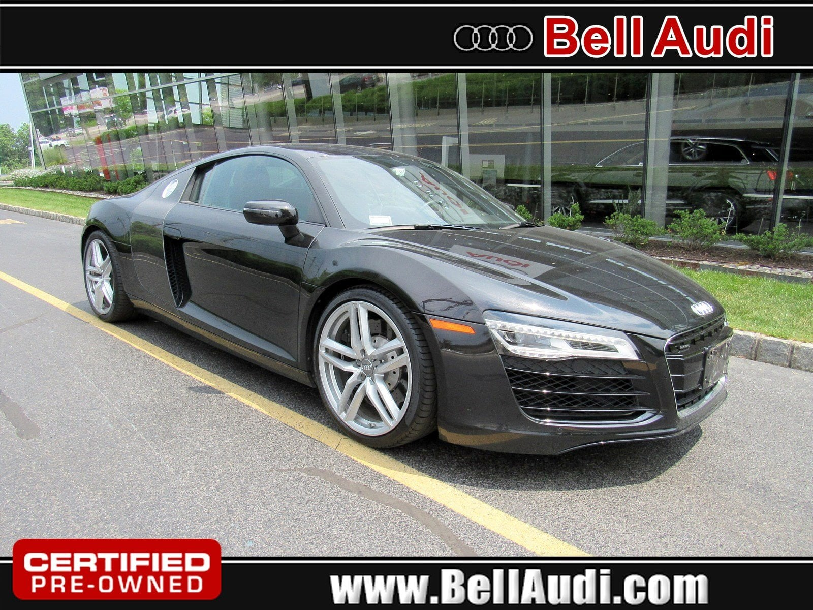 Photo Certified Pre-Owned 2015 Audi R8 4.2 Coupe for Sale in Edison, NJ