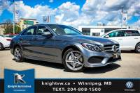 Pre-Owned 2017 Mercedes-Benz C-Class C 300 AWD w/ AMG Pkg/Driver Assist Pk/Heated Steering Wheel AWD 4MATIC 4dr Car