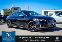 Pre-Owned 2018 Audi S5 Coupe Technik AWD w/ 360 Cam/Massage Seats/Winter Tires&Rims AWD 2dr Car