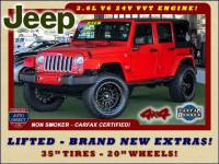 2018 Jeep Wrangler JK Unlimited Sahara 4x4 - LIFTED - BRAND NEW EXTRA$!