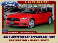 2015 Ford Mustang GT Premium- 50TH ANNIVERSARY APPEARANCE PKG - NAV!