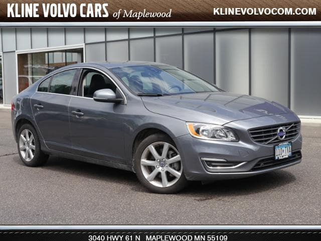 Photo Used 2016 Volvo S60 T5 Premier AWD 2.5l 5cyl Sedan For Sale Maplewood, MN