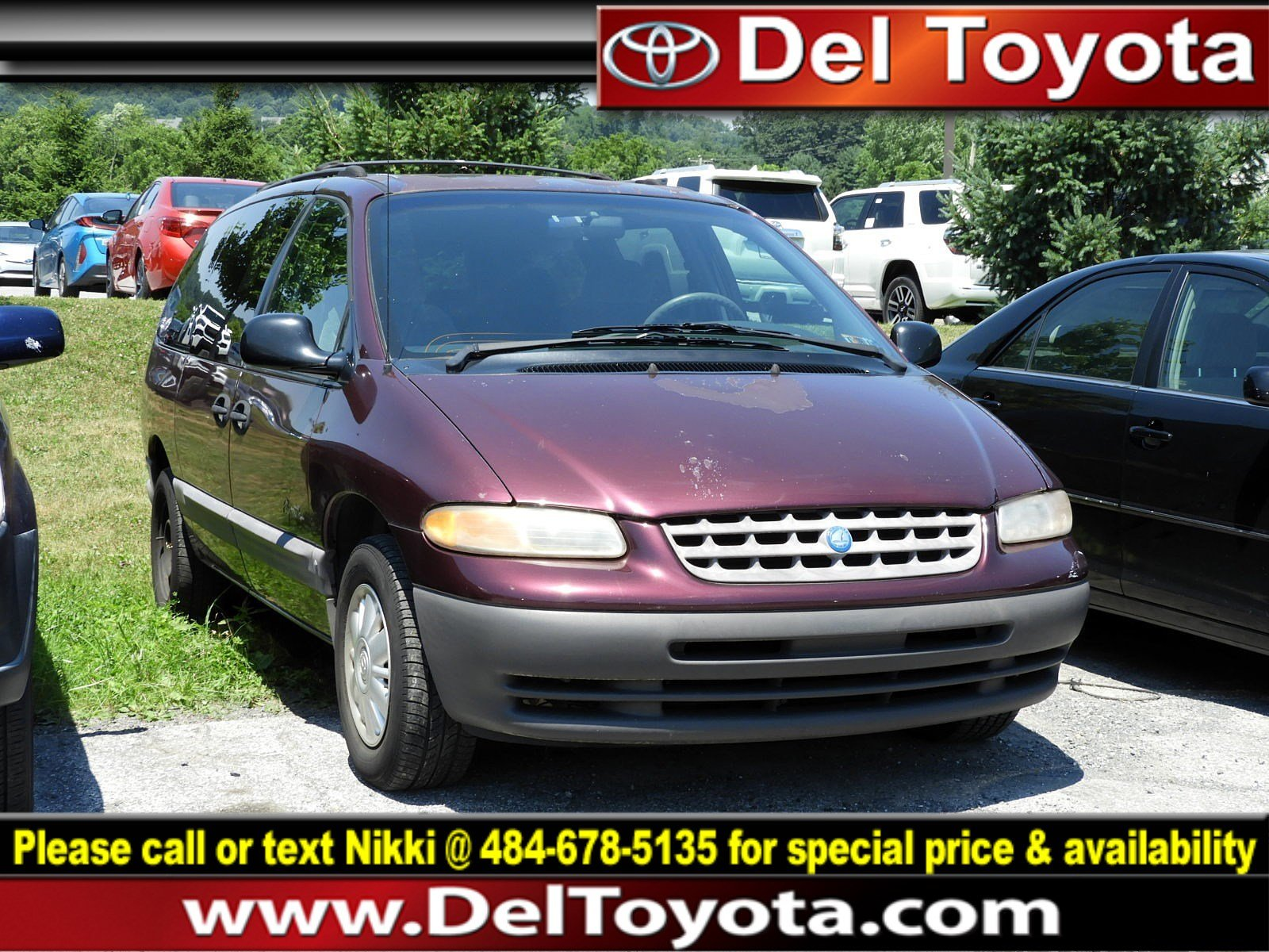 Photo Used 1998 Plymouth Voyager SE For Sale  Serving Thorndale, West Chester, Thorndale, Coatesville, PA  VIN 1P4GP44G4WB560220