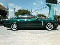 2008 Jaguar XJR SuperCharged Emerald Fire