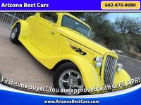 1934 Ford Model 40 Suicide Door 3-window Coupe