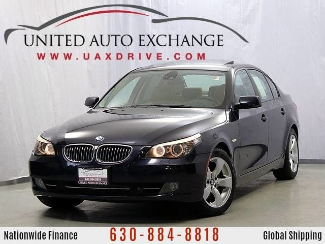 Photo 2008 BMW 5 Series 535xi 6-Speed Manual Trans. Sport Package Navigation  AWD