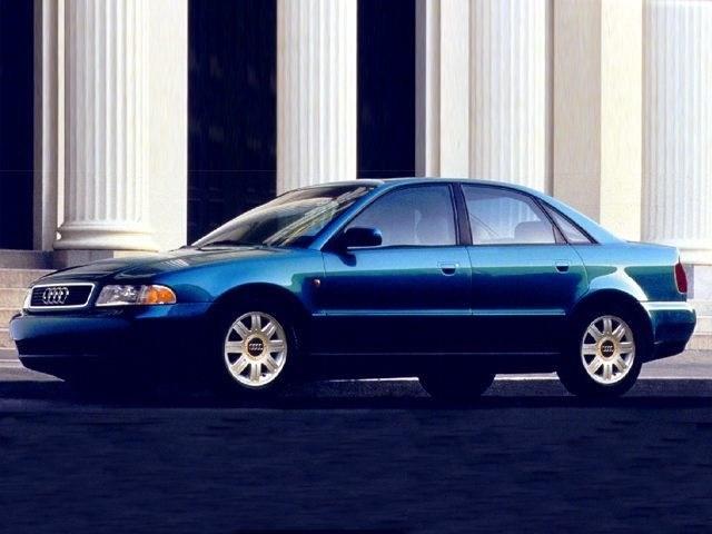 Photo Used 1999 Audi A4 1.8 T Quattro Sedan For Sale Dartmouth, MA