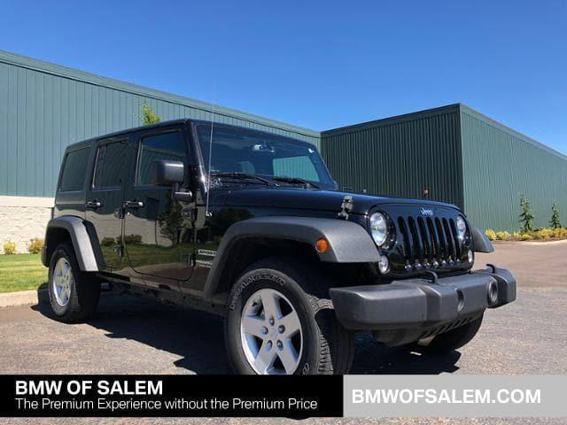 Photo Used 2017 Jeep Wrangler JK Unlimited Sport 4x4 in Salem, OR