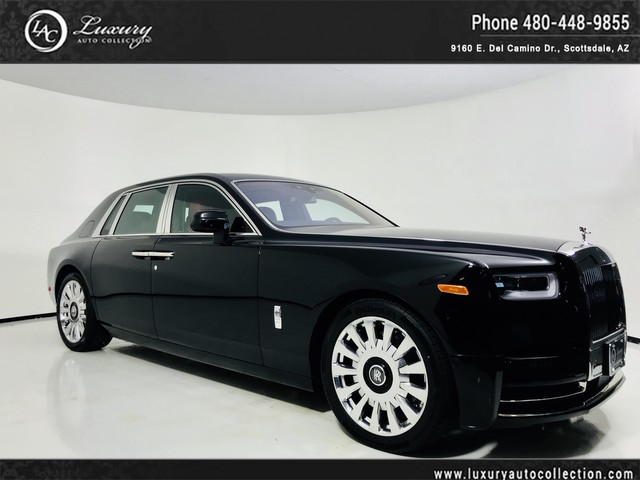 Photo 2018 Rolls-Royce Phantom VIII  Bespoke Order  Rear Theater PKg  Executive 4 Seating  Rear Curtains  Rear Fridge  555 MSRP Rear Wheel Drive Sedan