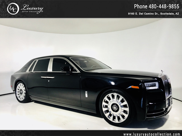 Photo 2018 Rolls-Royce Phantom VIII  BlackBlack  Theater Config  Starlight  Adaptive Cruise Rear Wheel Drive Sedan